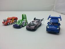 Mattel Disney Pixar Cars Snot Rod & DJ & Boost & Wingo Diecast Toy Car 1:55 New
