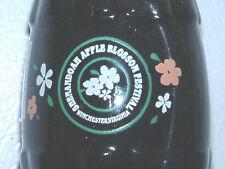 Shenandoah Apple Blossom Festival Coca-Cola Coke Bottle