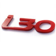 Universal Fit Red Mini Emblem 2p For 08 10 Hyundai i30