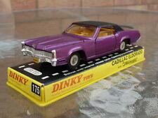 Dinky diecast No 175 Cadillac Eldorado 1969-73 Original never been used in box