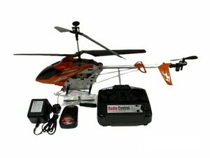 """Syma S031 24"""" ALLOY Frame 3CH Gyroscope RC Helicopter ORANGE Tested"""