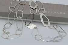 """Long Chain Necklace N3225 $199 Silpada Sterling Silver """"Make Connections"""" 36"""""""