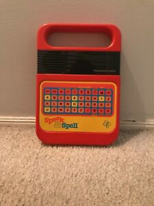Vintage Texas Instruments Speak and Spell