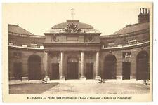 75  PARIS  HOTEL DES MONNAIES  COUR D HONNEUR  ENTREE DU MONNAYAGE