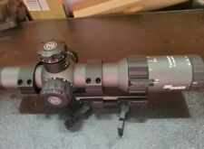 Sig Sauer Tango4 Rifle Scope 30mm Tube 1-4x  SOT41001 AR Tactical Red Dot