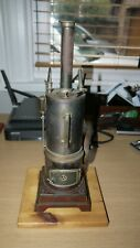 VINTAGE CARETTE LIVE STEAM VERTICAL ENGINE - CIRCA 1912 !!