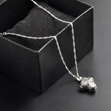 Magnet Cross Cremation Urn Pendant Ash Holder Keepsake Memorial Necklace Chain