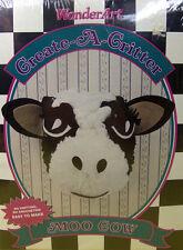 NEW Wonderart Caron COW BLEACH BOTTLE EZ Craft Kit CREATE-A-CRITTER  No Knitting