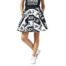 Faldas de mujer adidas color principal negro