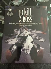 BEPUZZLED TO KILL A BOSS (1994) MYSTERY JIGSAW PUZZLE THRILLER FACTORY SEALED!