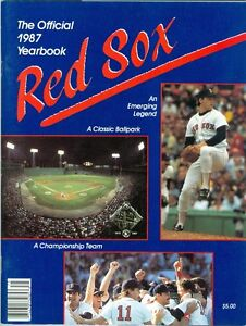 1987 Boston Red Sox Yearbook: Roger Clemens - Championship Recap