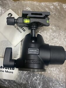 Manfrotto 468MGQ6 Hydrostatic Ball Head with MSQ6PL Quick Release Plate.Open Box