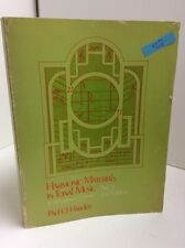 Harmonic Material in Tonal Music : A Programmed Course by Paul Harder 1974 82