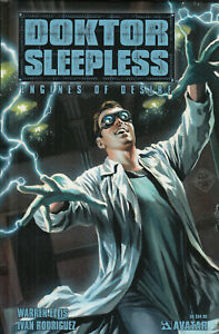 Warren Ellis´ Doktor Sleepless (2008), Komplettstory, Hardcover