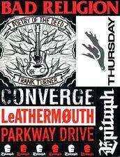 Epitaph / Hellcat Records 8 Sticker Sheet Skateboard Stickers rock punk skate