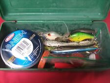Tackle Box With Lures And Stuff