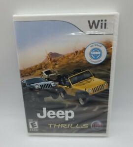 Jeep Thrills (Nintendo Wii, 2008) Brand New Sealed Fast Free Same Day Shipping