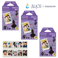 Fujifilm Instax Mini Disney Alice 30 Film Photos For Fuji 7s 8 70 90 Camera SP-2
