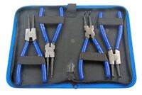 US PRO 4PC 7 CIRCLIP PLIERS SET IN ZIP POUCH B2064