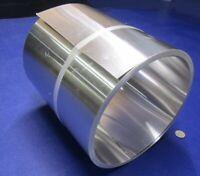 """3003 Aluminum Foil 1//2 Hard H14 .016/"""" Thick x 2.0/"""" Wide x 25 Feet Long"""