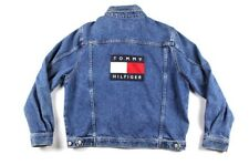 Vintage Tommy Hilfiger Flag Logo Denim Jacket
