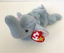 Ty Beanie Baby, Peanut The Elephant, 1995, New With Tag
