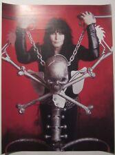 "W.A.S.P.  / Blackie Lawless poster 26""x18"" (65x48cm)"