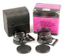Canon Sure Shot 35M Mk II Telephoto & Wide Angle Axillary Lens Set. More Listed