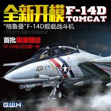 GreatWall 1/72 L7203 F-14D TOMCAT 1/72 SCALE VF-2 BOUNTY HUNTERS NAS 2019 NEW