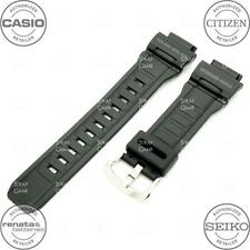 CASIO 10388870 Resin Rubber Watch Band for G-SHOCK MUDMAN G-9300 G9300-1, Black