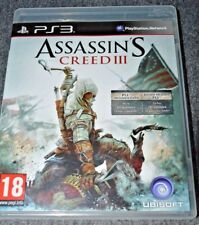 °°° Assassin's creed 3 jeu PS3 °°°