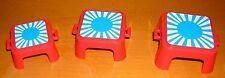 Playmobil 3519 éléphants dressage pièce de rechange: 3 paliers tabouret tabouret cirque