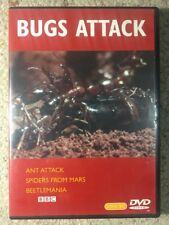 Bugs Attack - Ant Attack , Spiders From Mars , Beetlemania -Like New R2 DVD