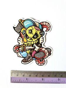 SANTA CRUZ Cartoon JDM Sticker Bomb Cartoons Scary Skateboard Stickers