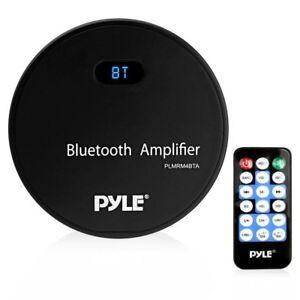 Pyle Marine Bluetooth Amplifier Receiver - Water Resistant Amp, MP3/USB/Aux