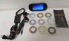 Sony PlayStation Portable PSP-1001 Handheld System Bundle & 9 Games Valkyrie
