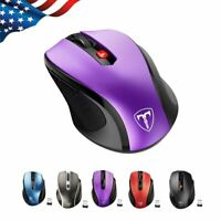 VTIN 2.4GHz 2400DPI Wireless Optical Mouse Mice & USB Receiver for PC Laptop MAC