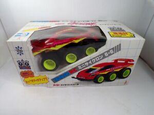 Vintage 90's Taiyo Japan R/C Mini Cyclone 6x6 Red MIB Tyco Scorcher