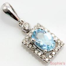 Aquamarine 18k Fine Necklaces & Pendants