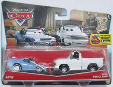VOITURE DISNEY PIXAR Artie & Brian Fee Clamp 2-pack - 2016 LA Speedway Series