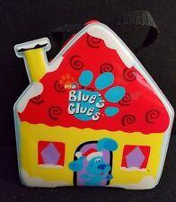 Vintage Blue's Clues Vinyl House and 5 Blue Figures