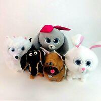 The Secret Life of Pets 2 Soft Plush Toy Bundle Princess Gidget Snowball Buddy