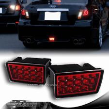 F1 Style Red/Clear Lens Red LED 3rd Brake Light For 2011-2014 Subaru WRX STI