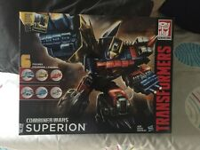 Transformers Combiner Wars Superion MISB