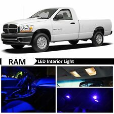 9x Blue LED Lights Interior Package Kit for 2002-2008 Dodge RAM 1500