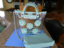 Brighton NWT My Flat In London Cushion Small Tote/Purse W/ Pouch 2 STRAP STYLES