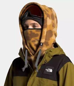 North Face Whimzy Powder Hood Fleece Camo Beige New NWT Unisex S/M