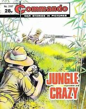 Commando For Action & Adventure Comic Book Magazine #2167 JUNGLE CRAZY