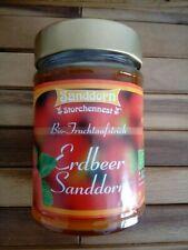 Storchennest Bio Fruchtaufstrich Erdbeer Sanddorn 200g