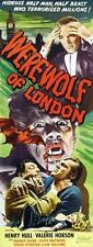 WEREWOLF OF LONDON Movie POSTER 14x36 Insert B Henry Hull Warner Oland Valerie